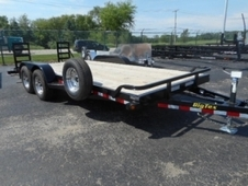 2016 BIG TEX 10ET-18 EQUPMENT TRAILER