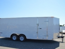 TEXAN CARGO 8.5X20 TANDEM AXLE W/REAR RAMP VT8520TA~