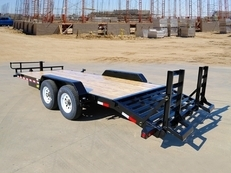 20' HEAVY DUTY TANDEM AXLE EQUIPMENT W/ KNEE RAMPS