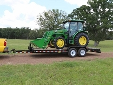 14ET 18 ft Heavy Duty Equipment Hauler w/ Mega Ramps