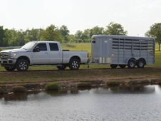 CM Stocker 16' Steel Stock Trailer