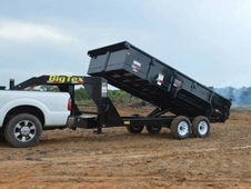 "Big Tex Heavy Duty Tandem Dump 14' x 83"" w/ Ramps"