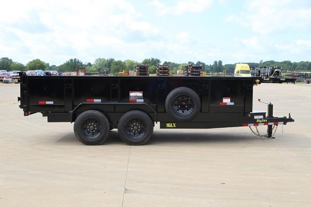 Big tex 16lx dump trailer 7x14 7x16 with 8k axles horseclicks big tex 16lx dump trailer 7x14 7x16 with 8k axles publicscrutiny Gallery