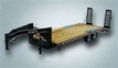 2019 QUALITY 24'+4' POP UP TAIL GOOSENECK FLAT TRAILER