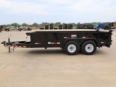 Big Tex 14LP Low Profile 7x14 and 7x16 Dump Trailer