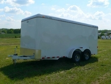 "CM Cargo Mate 6'8""x14' Tandem Axle with Double Doors"