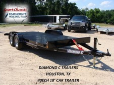 2016 Diamond C 40 ECH 18' 18' CAR TRAILER