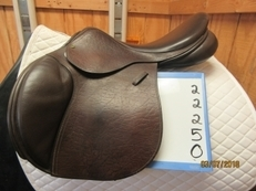 "County Innovation Used Close Contact Saddle 18 ""W"