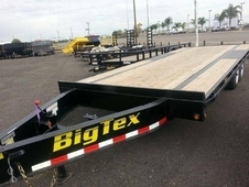 Big Tex Flatbed Over the Axle Equipment Trailer #5200 axles to 7K...