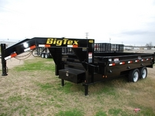 Big Tex Over the Axle Gooseneck Dump Trailer