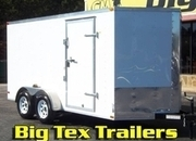 2017 7-Wide  Cargo Trailers 7x12 to 7x24