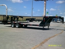 "Tiger 102""x21'+3 Equipment Gooseneck"