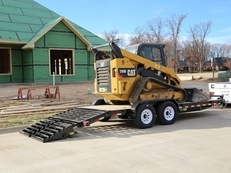 "83"" x 20' Heavy Duty Tandem Axle Equipment With Mega Ramps"