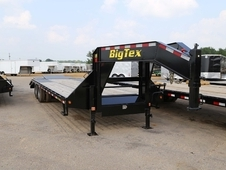 Big Tex 22GN 20'+5' HD Tandem Dual Axle Gooseneck