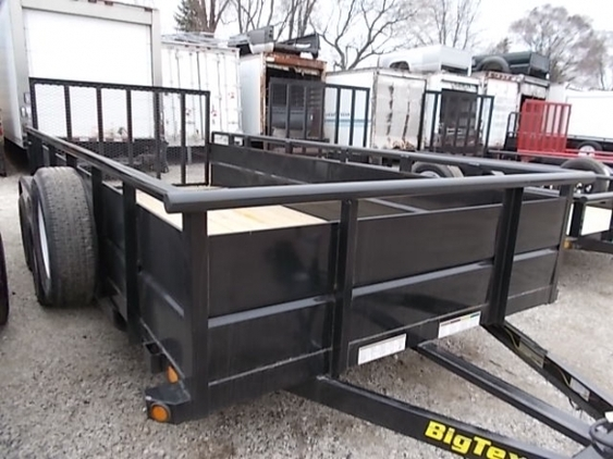2018 BIG TEX 70TV-16 UTILITY TRAILER