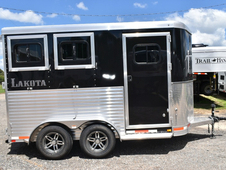 New 2018 Lakota 2HBPSL 2 Horse Trailer with 2' Short Wall