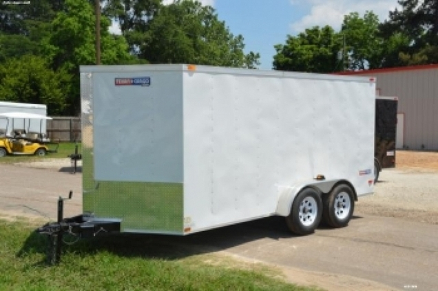 7x14 Tandem Axle Cargo w/Ramp Door