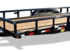 20' Pro Series Tandem Axle Pipe Top Utility