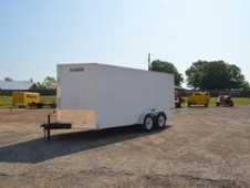 Texan Cargo 7x16 Tandem Axle Cargo w/Side & Ramp Door