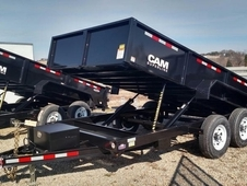 "NEW 2018 CAM ""Advantage"" 6'8"" x 12' HD Lo Pro Equipment Dump"