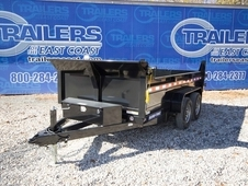 2017 Sure-Trac 6 x 12 2-5200 lb Axles LProfile Single Ram