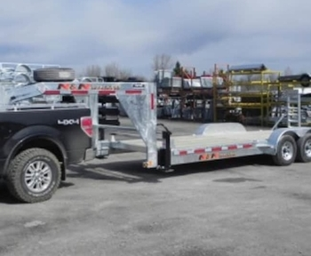 Trailers Plus Peterborough >> 2017 N N 7 Ton 20 2 Galvanized Gooseneck Equipment