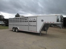 24' Cimarron Lone Star Stock Trailer