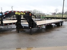 40' Tandem Dual Gooseneck with Slide In Ramps