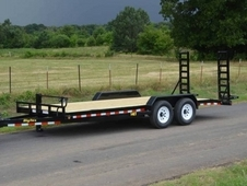 14ET 18 ft Heavy Duty Equipment Hauler