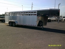 Rancher RS 24' Aluminum Stock Trailer