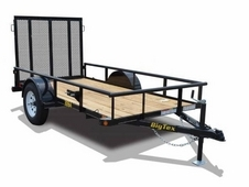 Big Tex Single Axle Utility 14' x 60""