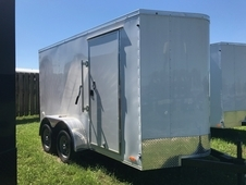 TANDEM AXLE 12' ENCLOSED CARGO TRAILER