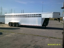 Sundowner Rancher RS 28' Gooseneck Stock Trailer