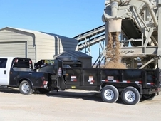 "Big Tex Heavy Duty Tandem Dump 16' x 83"" w/ Ramps"