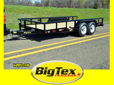 Big Tex PI Series, One of our most popular sellers, 16ft to 20ft, #5200 Axles to #7K Axles, Utility / Equipment Trailer