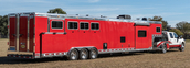 Used 2015 Blue Ribbon LQ Horse Trailer for sale