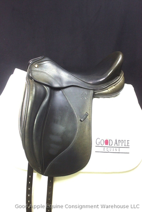 Mac Rider Lexington Dressage Saddle, 17.5ins Medium Width Fitting; Ref: 2234-34