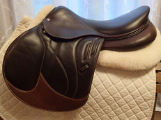"17.5"" Devoucoux Biarritz Lab Full Buffalo Saddle with D3D Technology 2015"