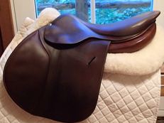 "Beautiful 17.5"" Butet Saddle 2014"