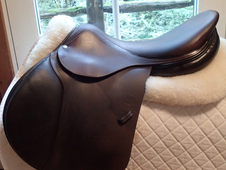 "Gorgeous 18"" Devoucoux Socoa Saddle 2011 2A"