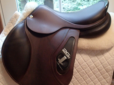 "17. 5"" CWD 2Gs Saddle ridden in less than 10 times 2016 2C"