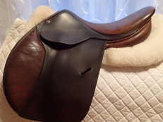 "Lovely 16"" Butet Saddle 1999"