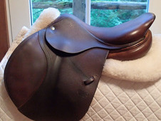 "Beautiful 16. 5"" CWD Saddle 2009 2C"