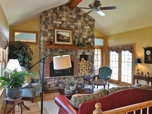 Equestrian Estate on wooded acreage