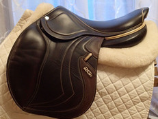 "17.5"" CWD 2Gs Mademoiselle ""Miss"" Full Buffalo Saddle 2016 3L"