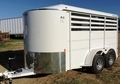 New 2 Horse Trailer Stock Trailer Combo