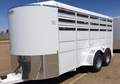 2016 Horse Trailer 6ft 6 in Tall*16Ft Stock Trailer