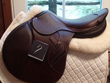 "BRAND NEW WITH TAGS 17. 5"" Antares Evolution Saddle 2016"
