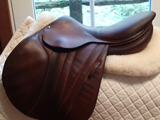 "Beautiful 17"" Butet Premium Full Calfskin Saddle 2012"