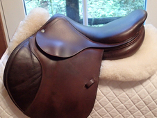 "Beautiful 16. 5"" CWD Saddle 2000 1C"